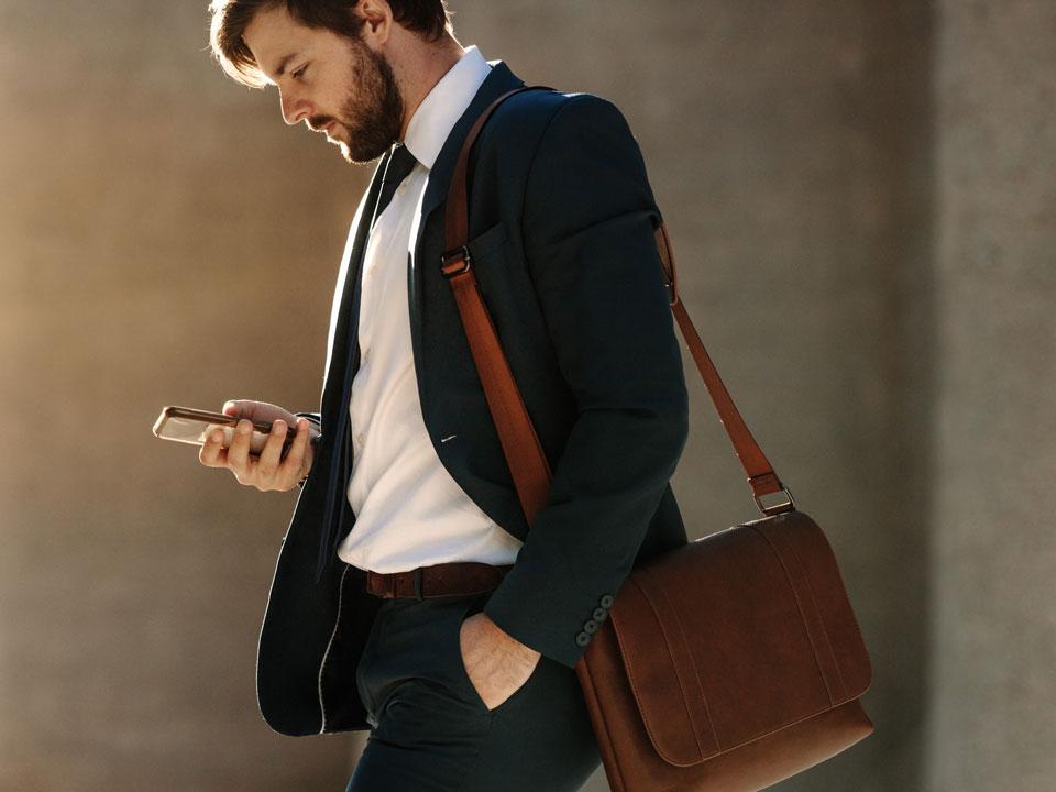 Le sac pour homme